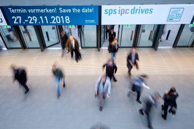 SPS IPC Drives 2017 - Messegeschehen (Bild: Mesago Messe Frankfurt GmbH)