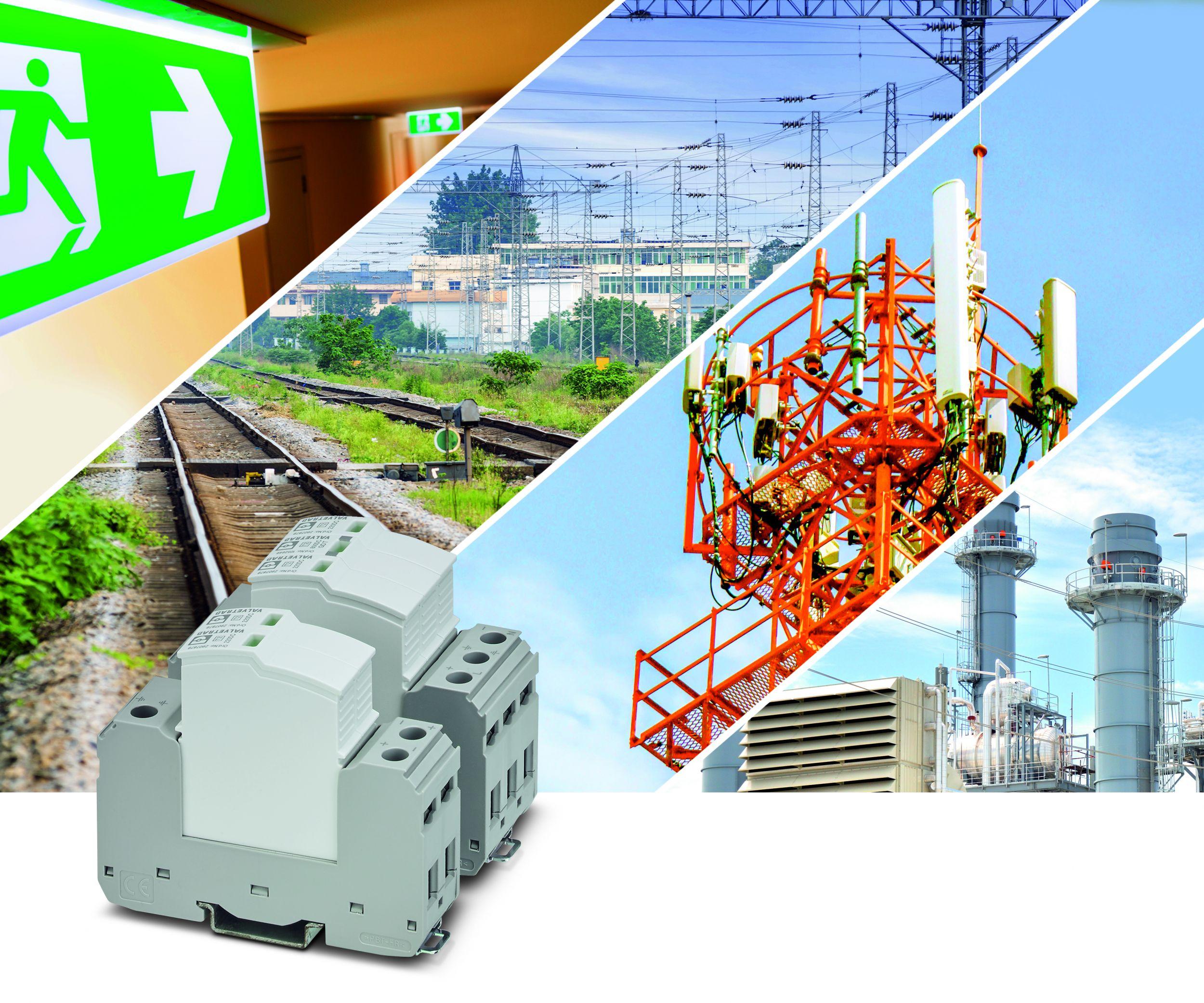 Auch DC-Anwendungen benötigen geeignete Schutzkomponenten für den zuverlässigen Betrieb. (Bild: Phoenix Contact Deutschland GmbH)