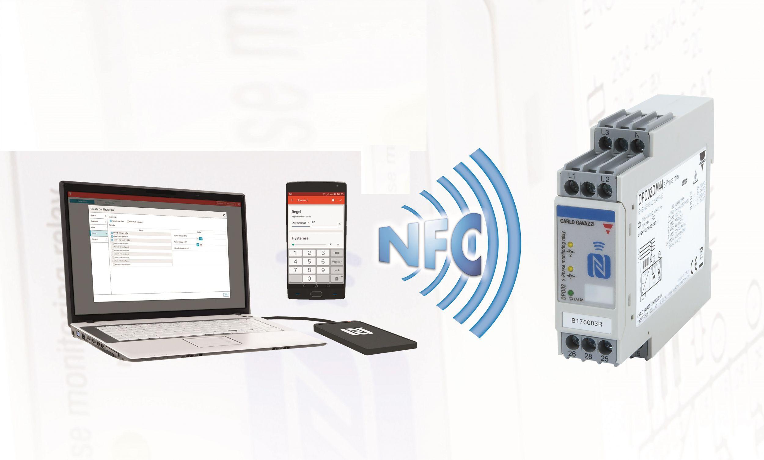 NFC-gesteuerte Konfiguration