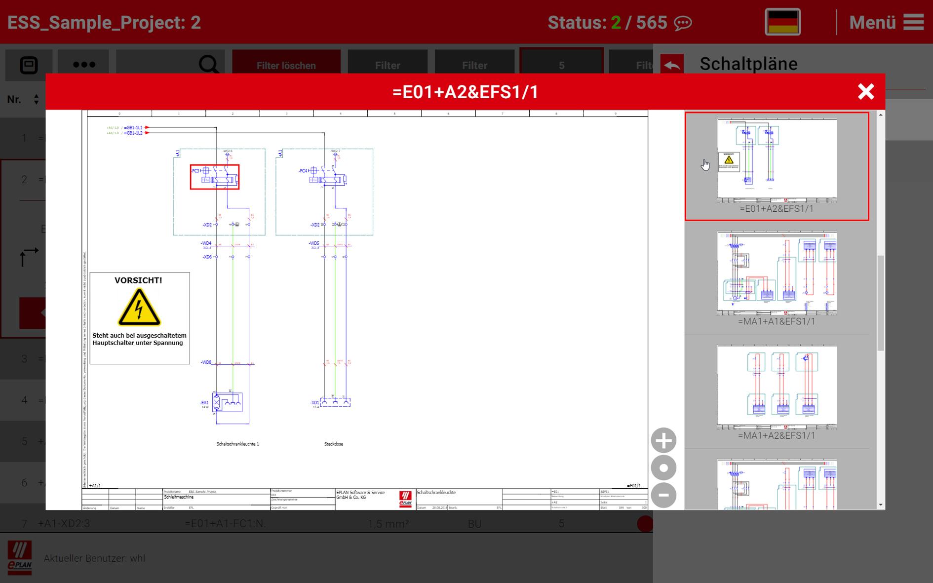 neue version des software tools schaltschrankbau. Black Bedroom Furniture Sets. Home Design Ideas