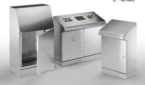 Ilinox bietet eine breite Palette an Standartprodukten, welche in verschiedenen Größen und Ausführungen erhältlich sind. (im Pulte und Computergehäuse der Serie QP). (Bild: Falk GmbH Technical Systems)