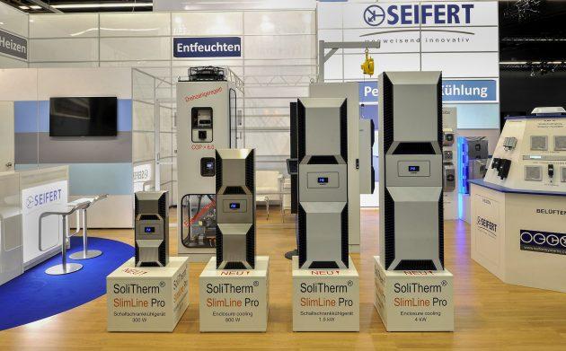 Zur SPS IPC Drives 2018 bietet Seifert Systems seine Kühlgeräteserie SlimLine Pro in allen neun Leistungsklassen an. (Bild: Seifert Systems GmbH)