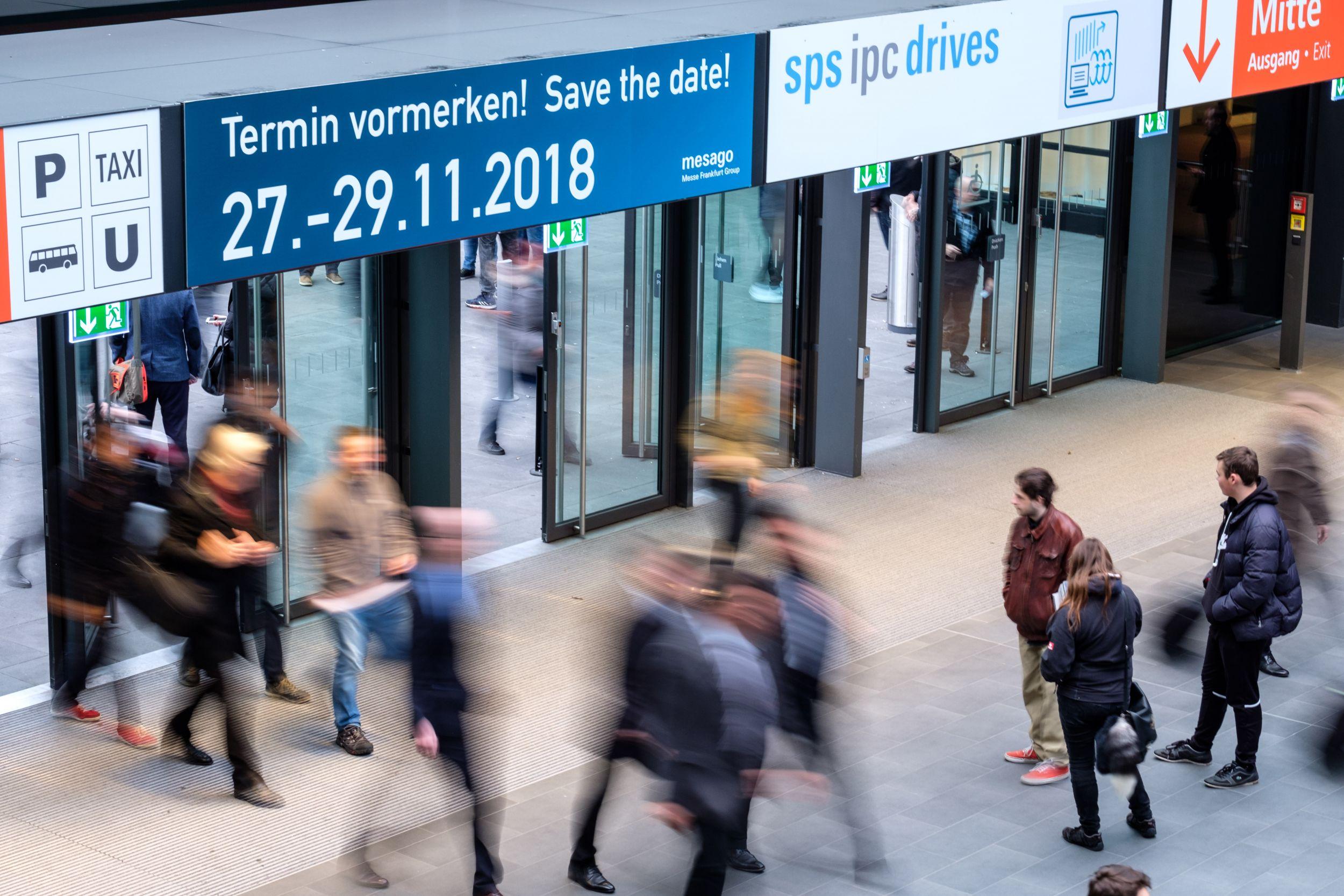 SPS IPC Drives 2017 - Messegeschehen (Bild:©Thomas Geiger/ Mesago Messe Frankfurt GmbH)