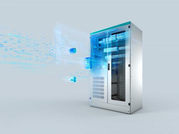 Der neue grafische 3D-Konfigurator ergänzt das modulare Lösungsangebot rund um die Systemschrank-Reihe Sivacon 8MF1, die konsequent auf komplexe Anforderungen wie Downsizing, Flexibilität und einfache Projektierbarkeit ausgelegt ist. (Bild: Siemens AG)