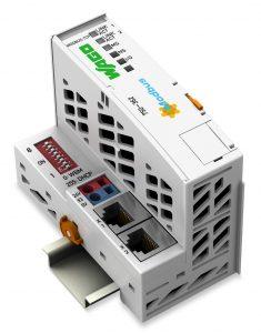 Wago Feldbuskoppler Modbus TCP/UDP: mit neuer, leistungsfähiger Hardware schneller booten. (Bild: Wago Kontakttechnik GmbH & Co. KG)