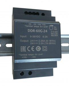 Die aufschnappbaren DC/DC-Wandler Gogaplus DCW von Gogatec zeichnen sich durch schnelle und bequeme Installation aus . (Bild: Gogatec GmbH)