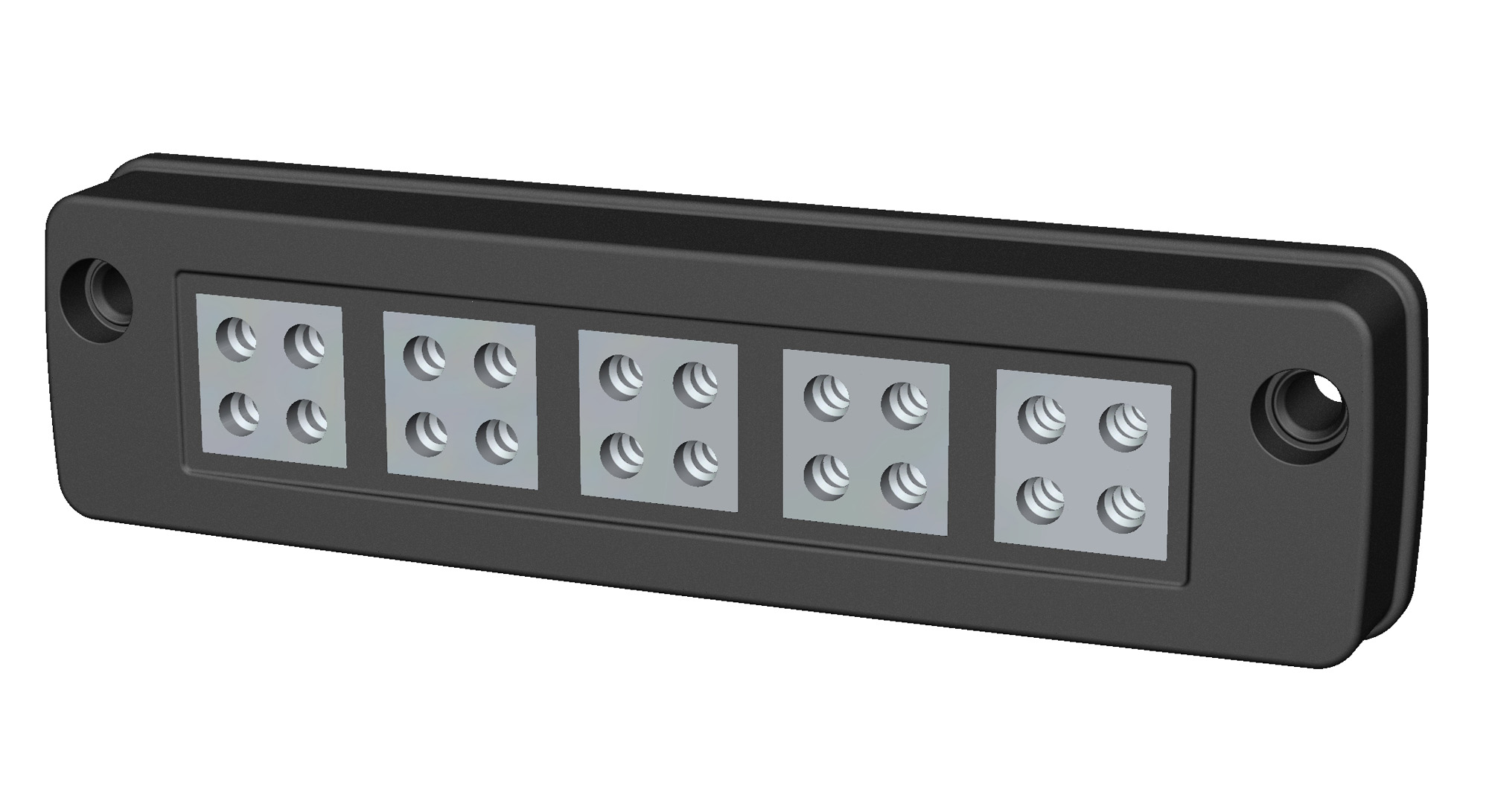 Die neue KDS-FB-Variante für fünf Rundkabel-Dichtelemente (Bild: Conta-Clip Verbindungstechnik GmbH)