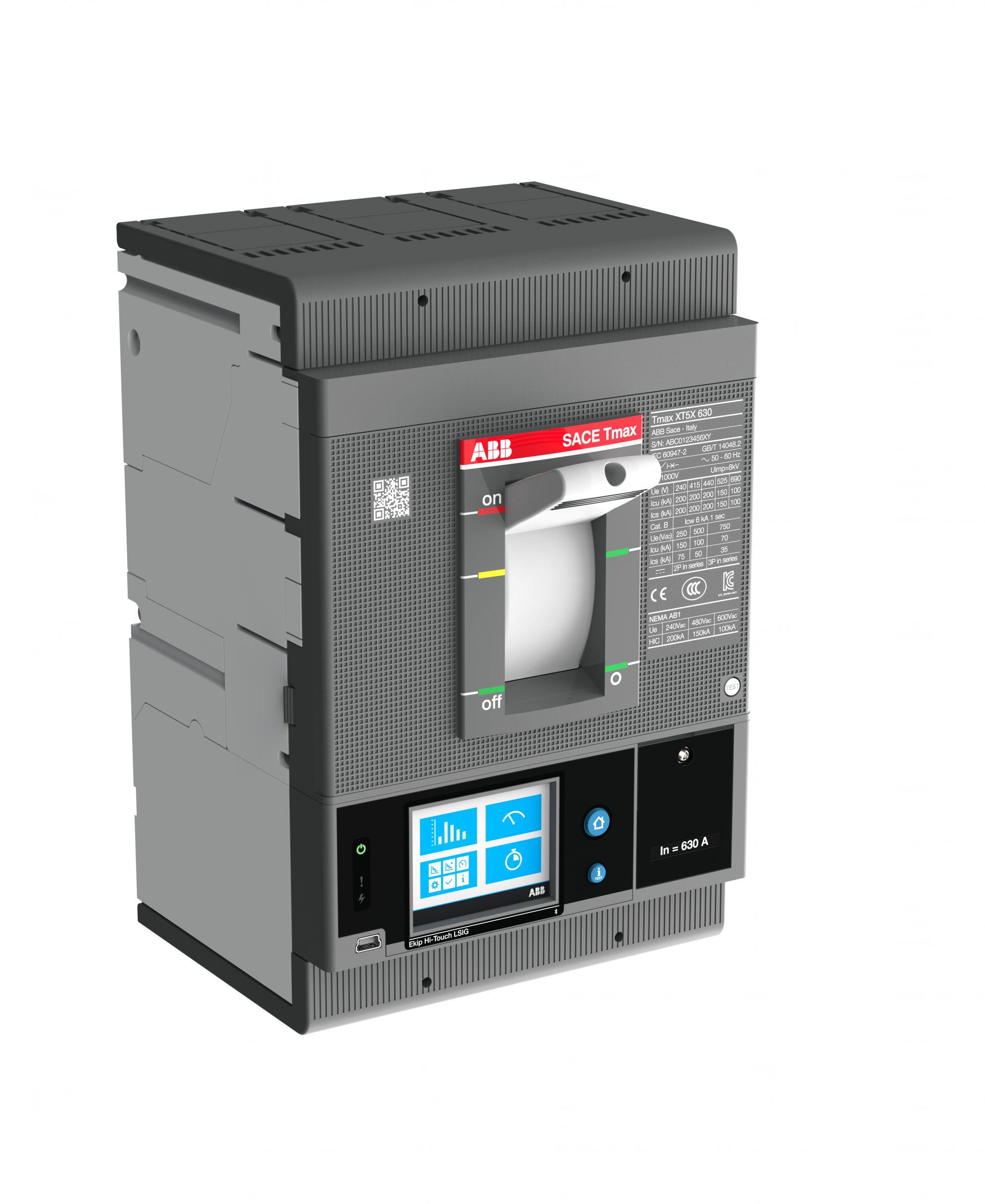 Die Leistungsschalter Tmax XT von ABB mit Ekip-Com-Architektur ermöglichen eine direkte Konnektivität des Internet der Dinge (IoT) für die gesamte Bandbreite von 40 bis 6.300A. (Bild: ABB)