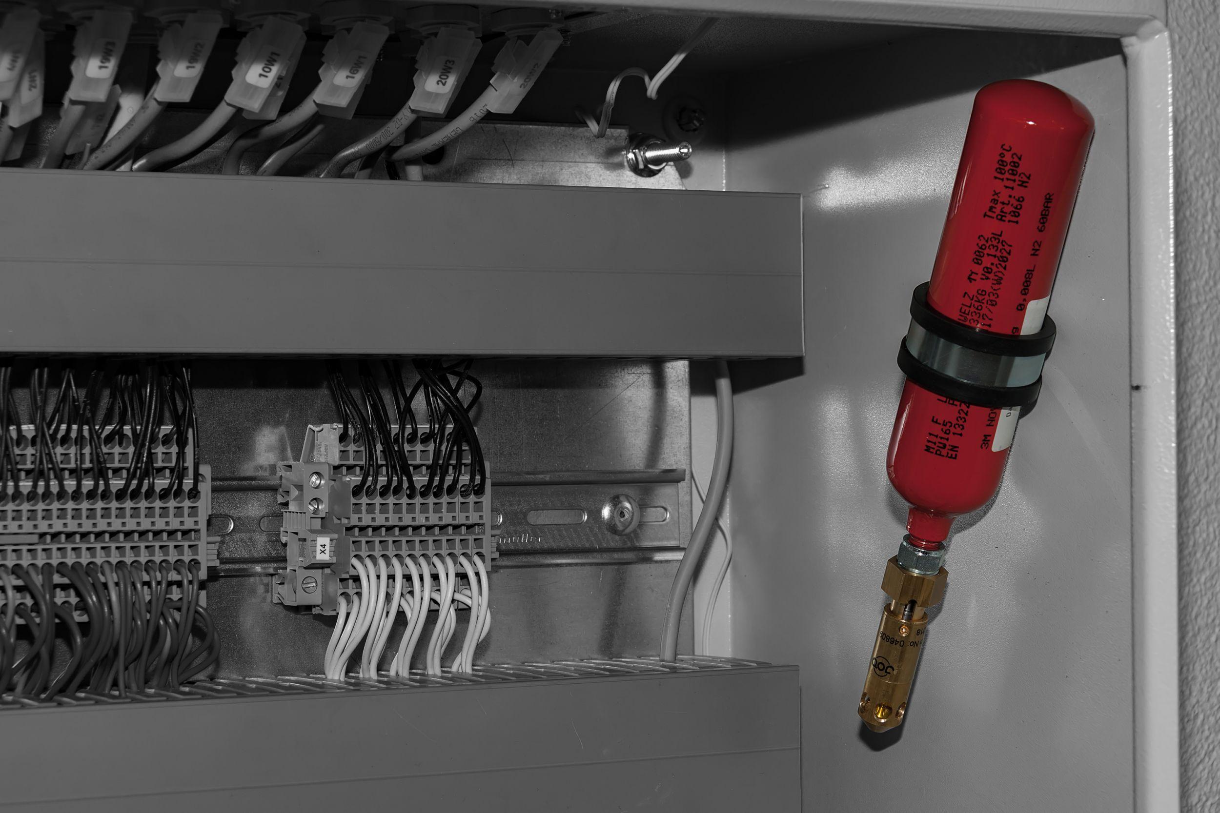 Autarke Feuerlöscheinheiten ermöglichen einen sofortigen Brandschutz durch einfachste Nachrüstung, auch ganz ohne Kabel. (Bild: Job GmbH)