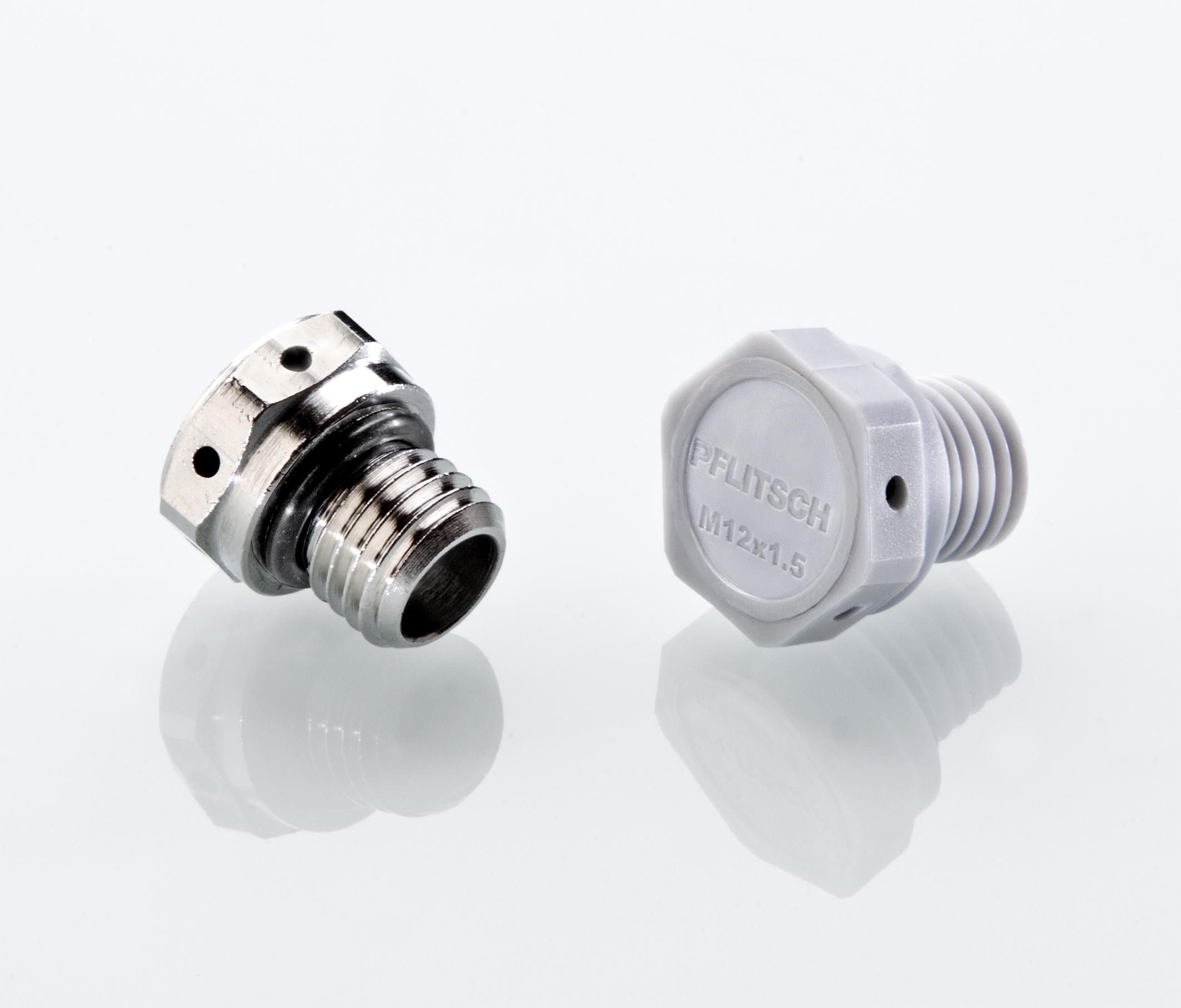 Die neuen Druckausgleichselemente (DAE) von Pflitsch bieten wirksamen Schutz für Dichtungen sowie Komponenten im Gehäuseinneren. (Bild: Pflitsch GmbH & Co. KG)