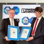 Phoenix Contact erhält IT-Sicherheits-Zertifikat vom TÜV Süd