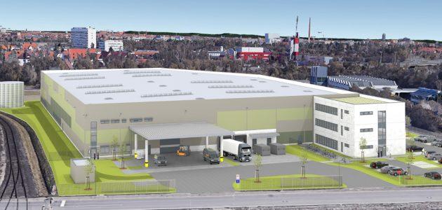 Mitte Mai bezieht die zur GMC-I-Gruppe gehörende MTP GmbH neue moderne Fertigungsstätten zur Produktion und Montage von Mess- und Prüftechnik am Nürnberger GVZ-Hafen (Bild: GMC-I Messtechnik GmbH)