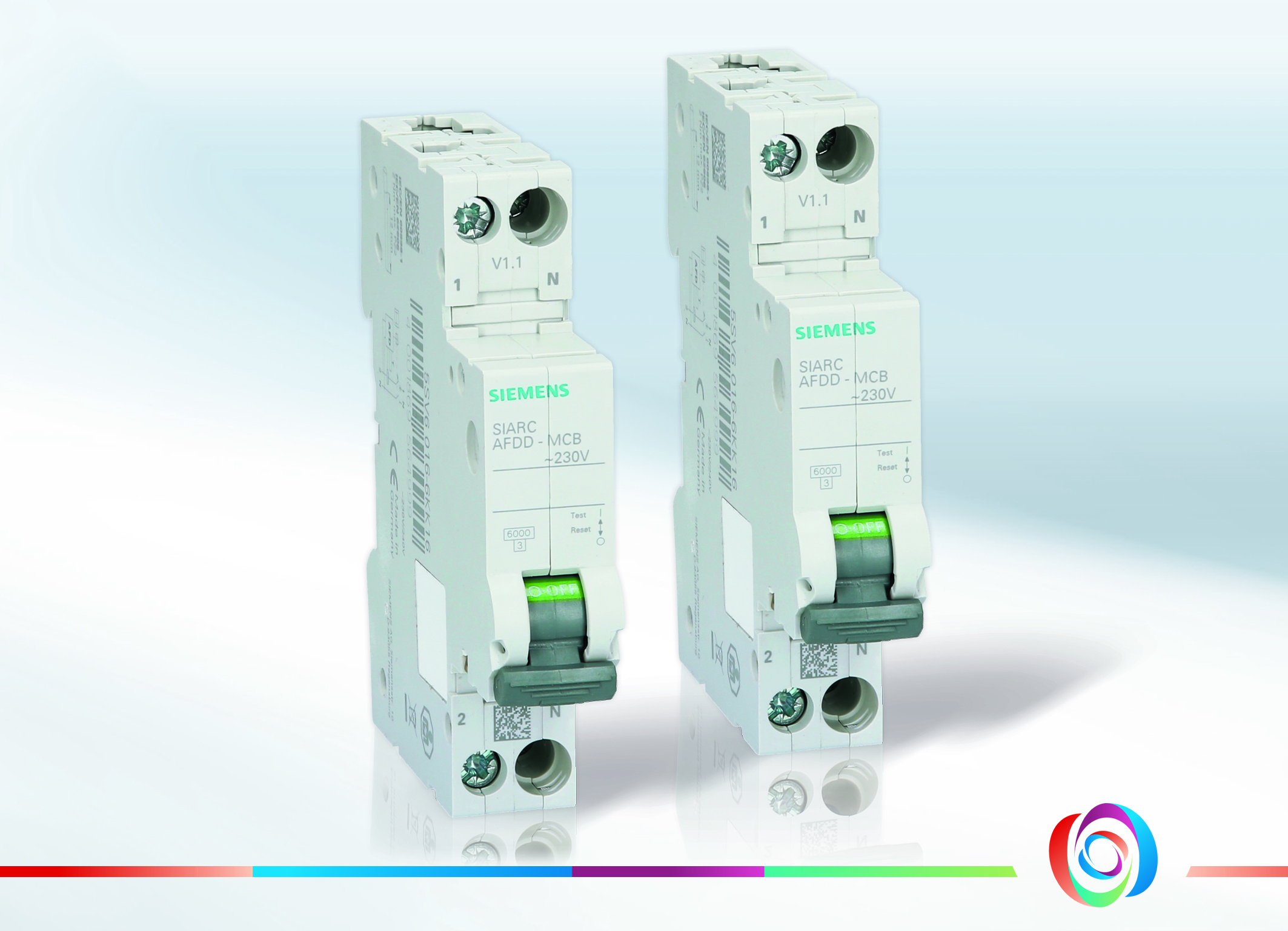 Die Siemens-AFDD der neuen Generation kombinieren Brand- und Leistungsschutzschalter in einer Teilungseinheit und sind ab sofort unter Automation24.de erhältlich. (Bild: Automation24 GmbH)