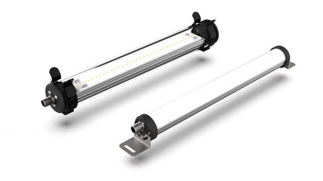 LED-Maschinenleuchten LMR in IP67 und LMM in IP54 (Bild: Elmeko GmbH + Co. KG)