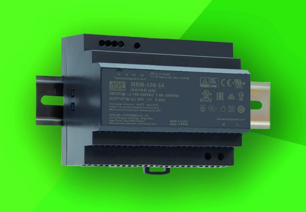 Das neue 150W-Netzteil arbeitet mit einer Effizienz von bis zu 90,5%. (Bild: Emtron Electronic GmbH)