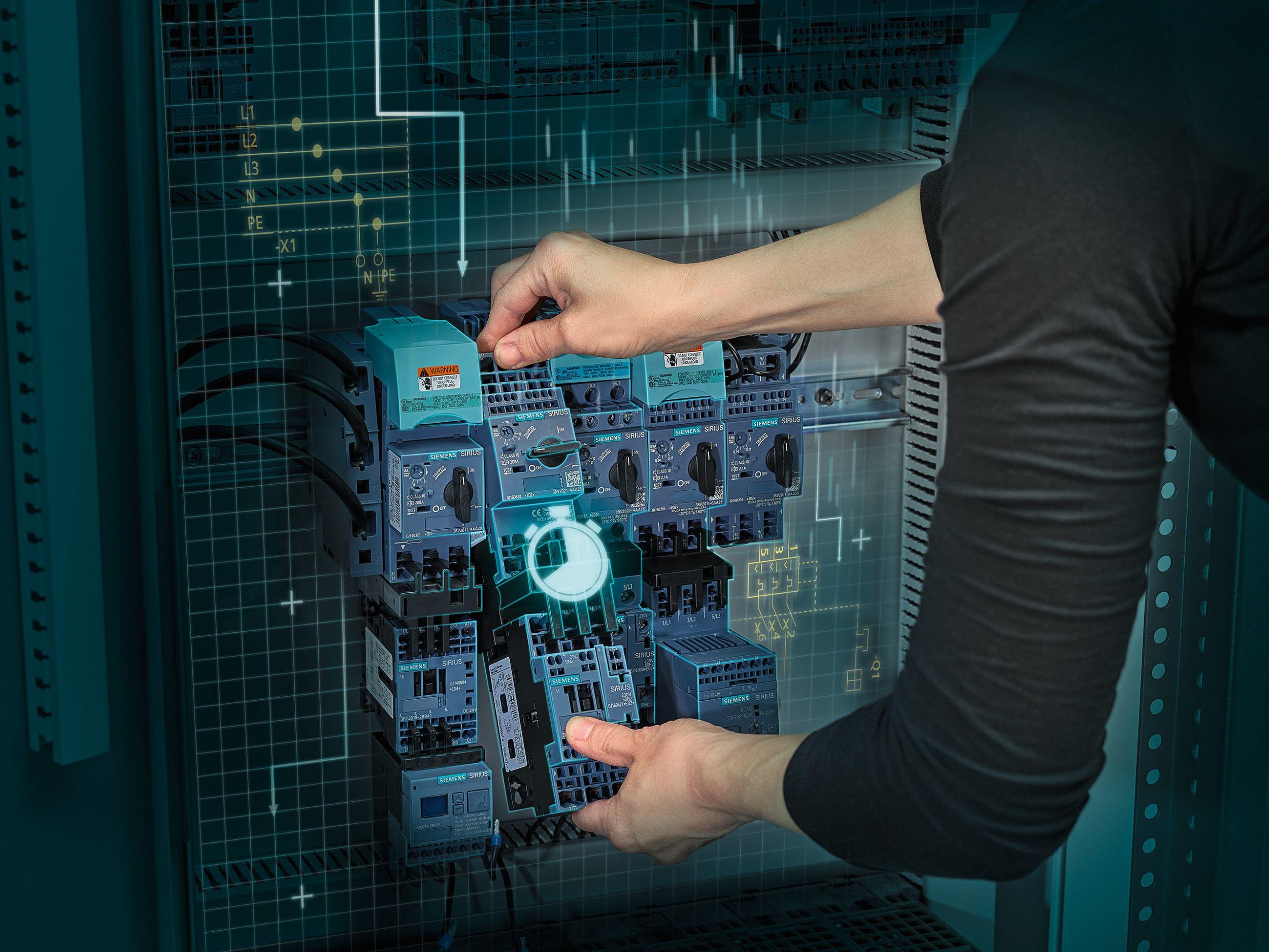 Sirius 3RA2 Verbraucherabzweige für den weltweiten Einsatz (Bild: Siemens AG)