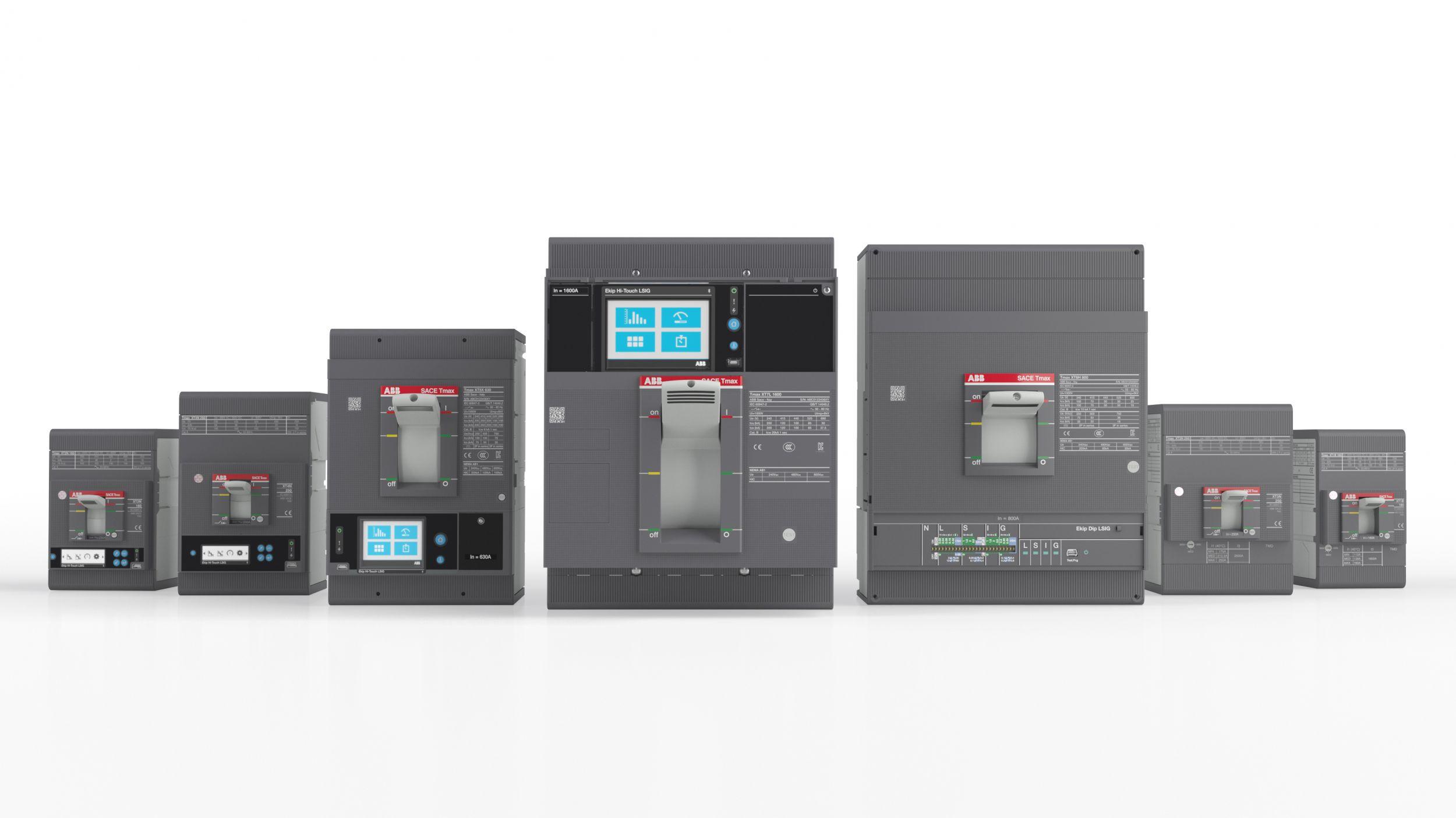 Die Kompaktleistungsschalter der Tmax XT-Baureihe wurde 2018 in den Markt eingeführt und in diesem Jahr mit dem SCHALTSCHRANKBAU Innovation Award ausgezeichnet. (Bild: ABB)