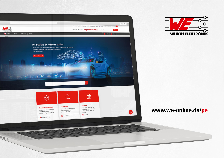 Online-Shop für Powerelemente