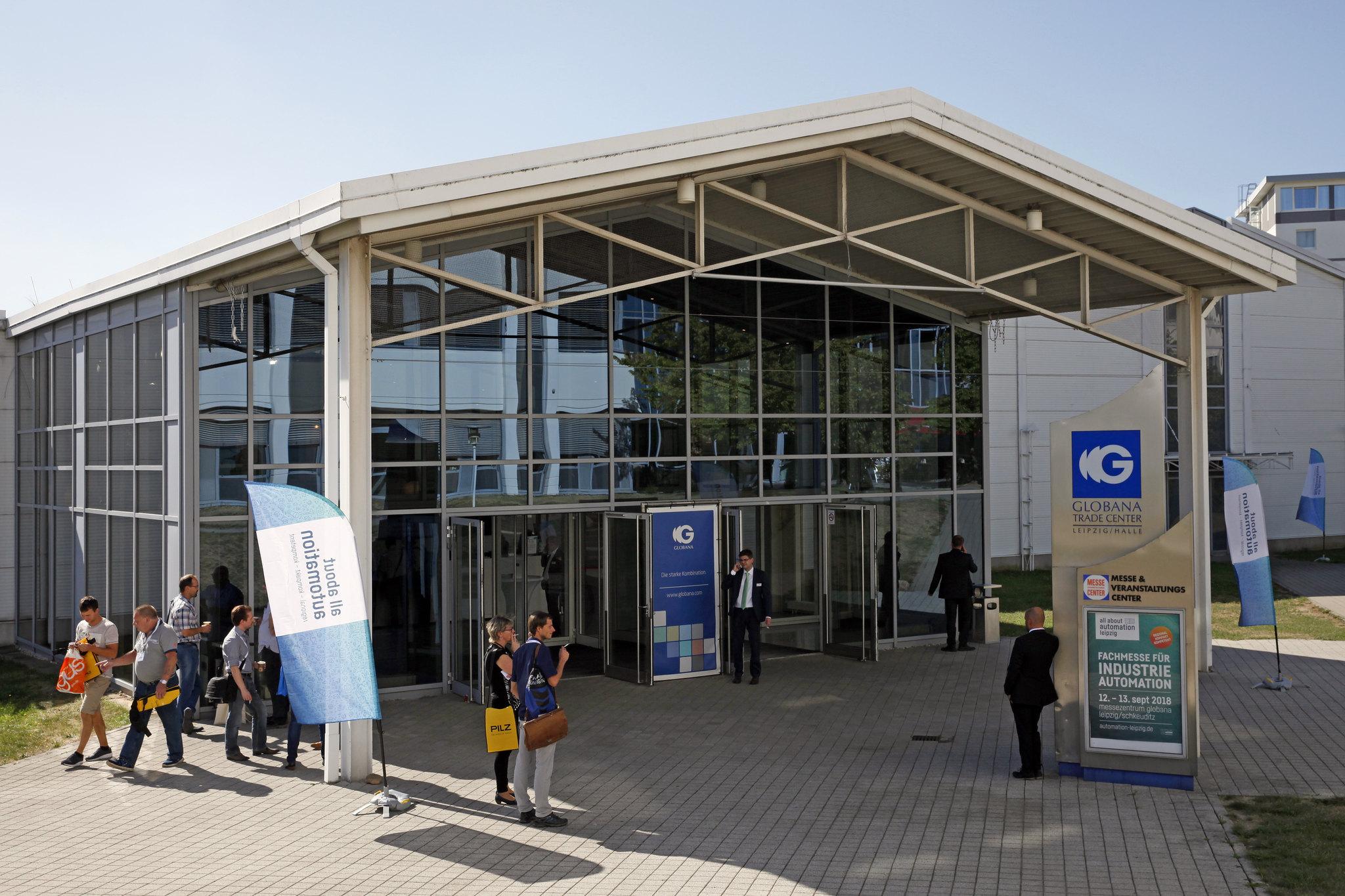 Die All About Automation findet am 11. und 12. September 2019 im Globana Trade Center, Schkeuditz, Leipzig, statt. (Bild: untitled exhibitions GmbH)