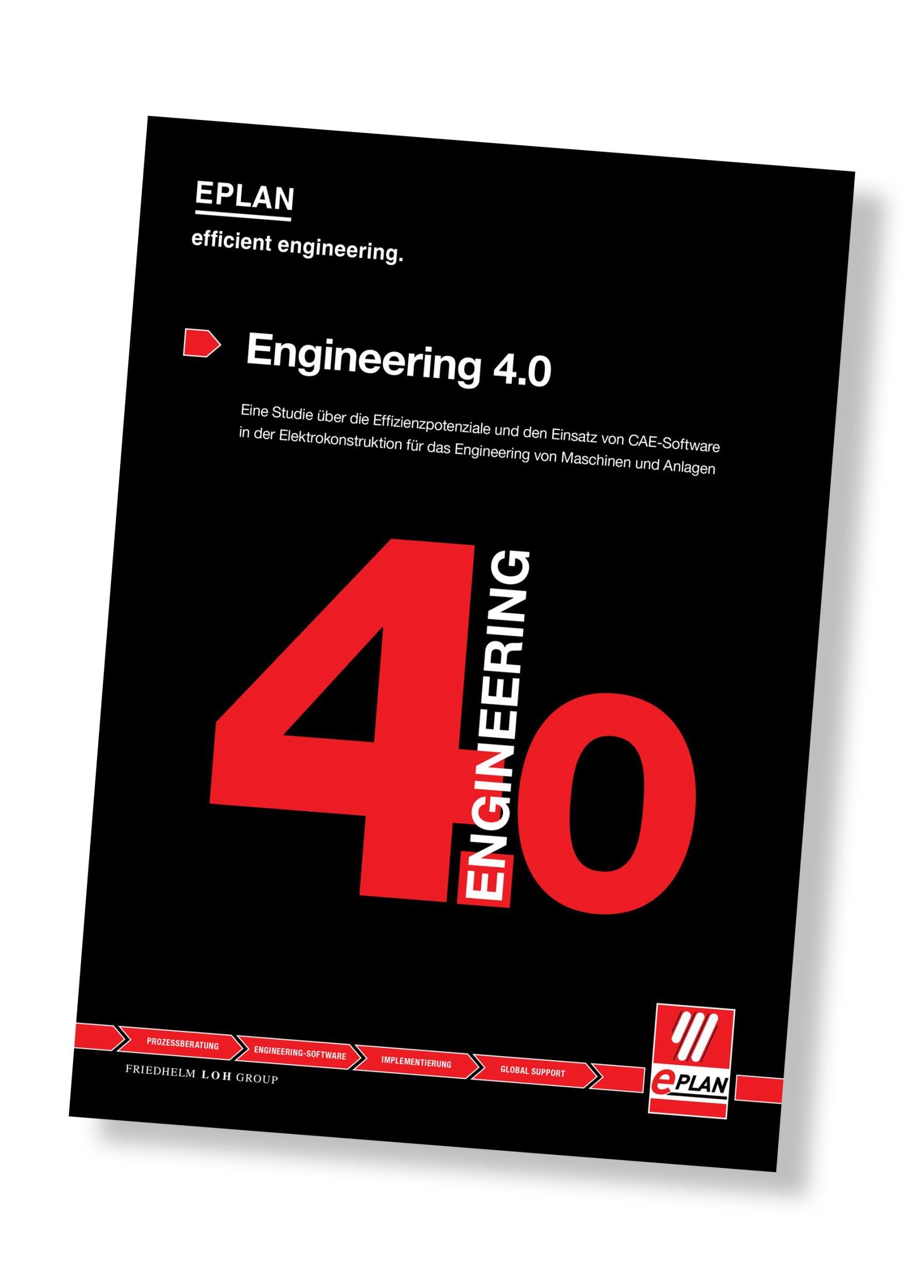 Die neue Studie 'Engineering 4.0' zeigt interessante Effizienz-Handlungsfelder auf. (Bild: Eplan Software & Service GmbH & Co. KG)