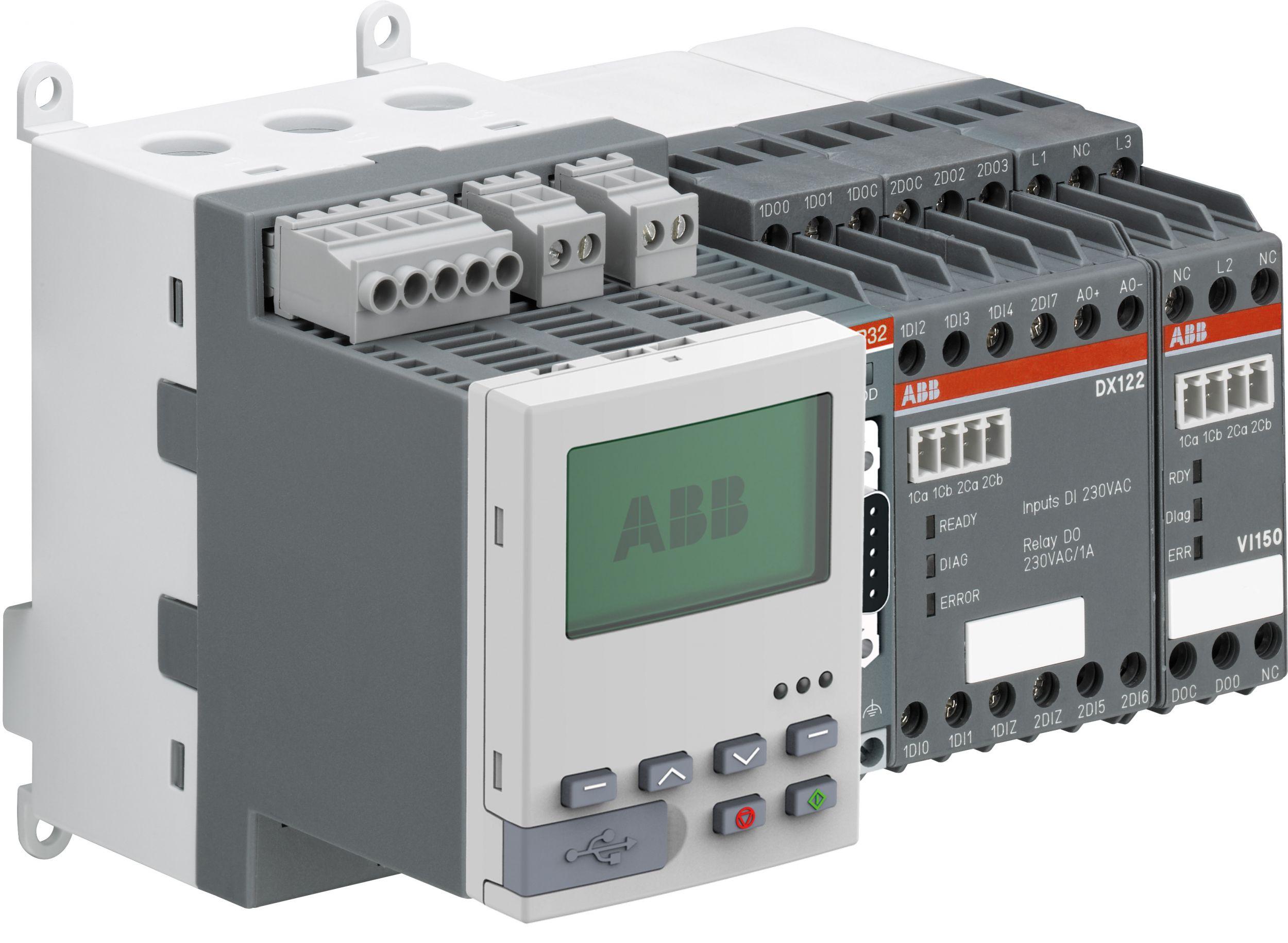 Der Universal Motor Controller UMC100.3 ist in der Prozessindustrie weit verbreitet und ermöglicht einen sicheren und zuverlässigen Betrieb von Niederspannungsmotoren. (Bild: ABB Stotz-Kontakt GmbH)
