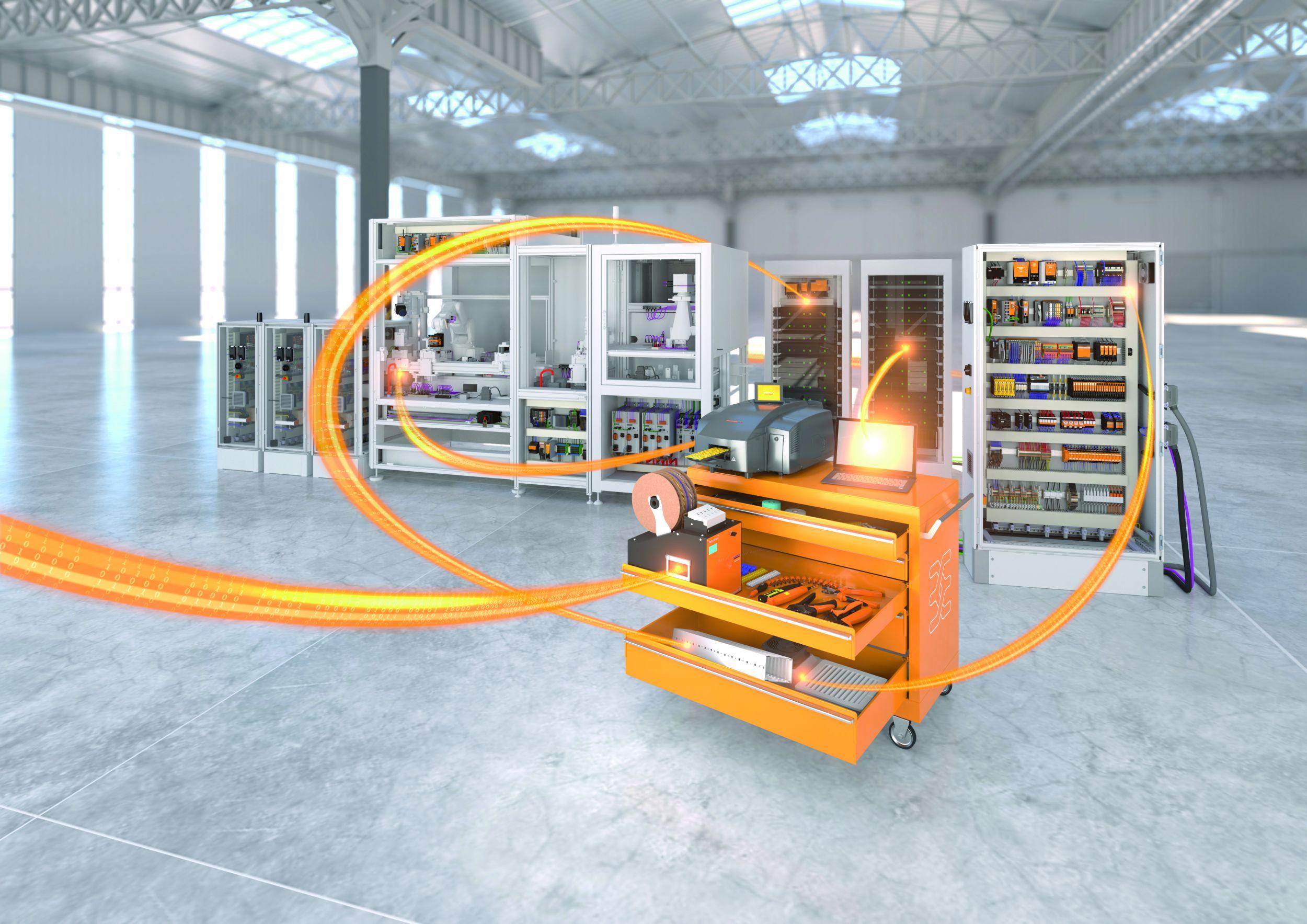 Weidmüller Workplace Solutions: Arbeitsprozesse im Schaltschrankbau optimieren mit Komplettlösungen für die Werkstatt. (Bild: Weidmüller Gruppe)