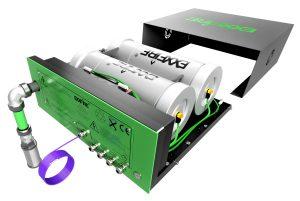 ExxFire ist durch die neuartige Plug&Play Konzeption einfach zu installieren und ebenso kostenoptimiert im Hinblick auf die Wartung. (Bild: Hertek GmbH)
