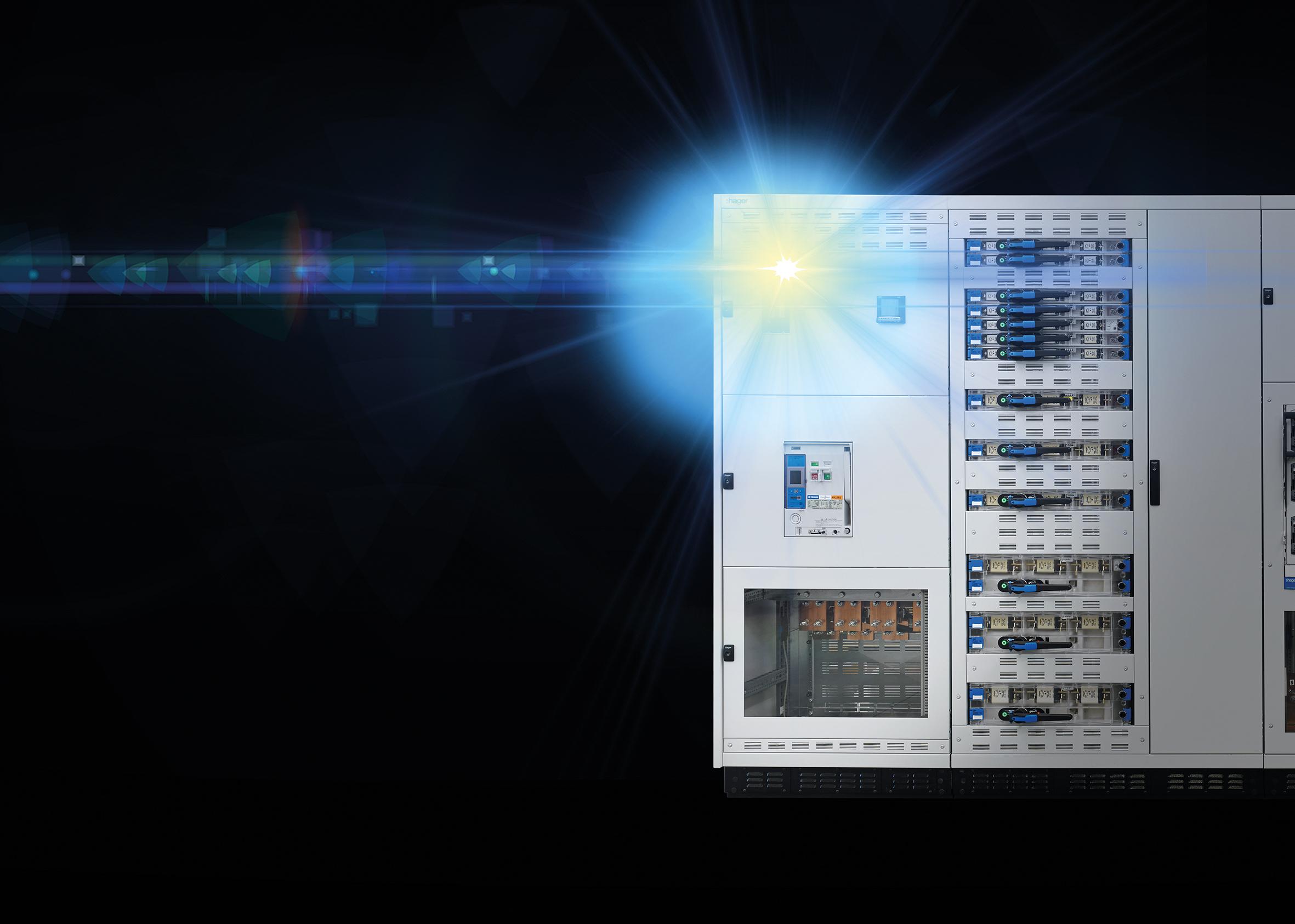 Sicher gegen Störlichtbögen mit dem System Unimes H von Hager. (Bild: Hager Vertriebsgesellschaft mbH & Co. KG)