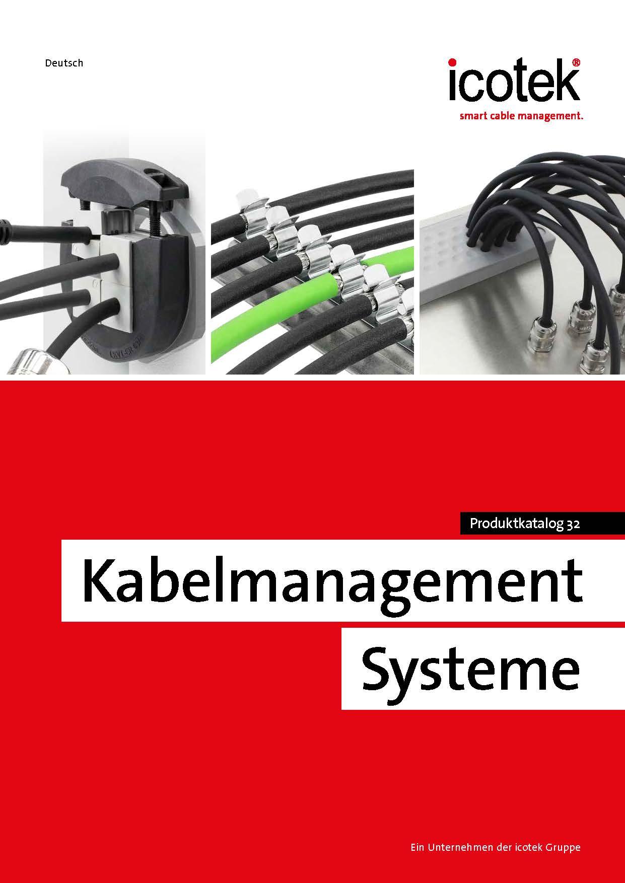 Produktkatalog Kabelmanagementsysteme