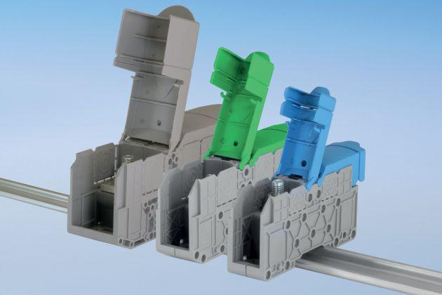 FTG führt die Bolzenklemmen-Serie STI für den individuellen Einsatz im Schaltschrankbau in verschiedenen Größen. (Bild: Friedrich Göhringer Elektrotechnik GmbH)