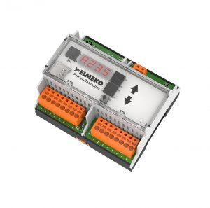 Der Elmeko-Controller TPC 300 für die Überwachung von Temperatur und Feuchte in der Schaltschranktechnik ist konzipiert für die Regelung von Kühl- und Entfeuchtungsgeräten mit Peltiertechnik. (Bild: Elmeko GmbH + Co. KG)