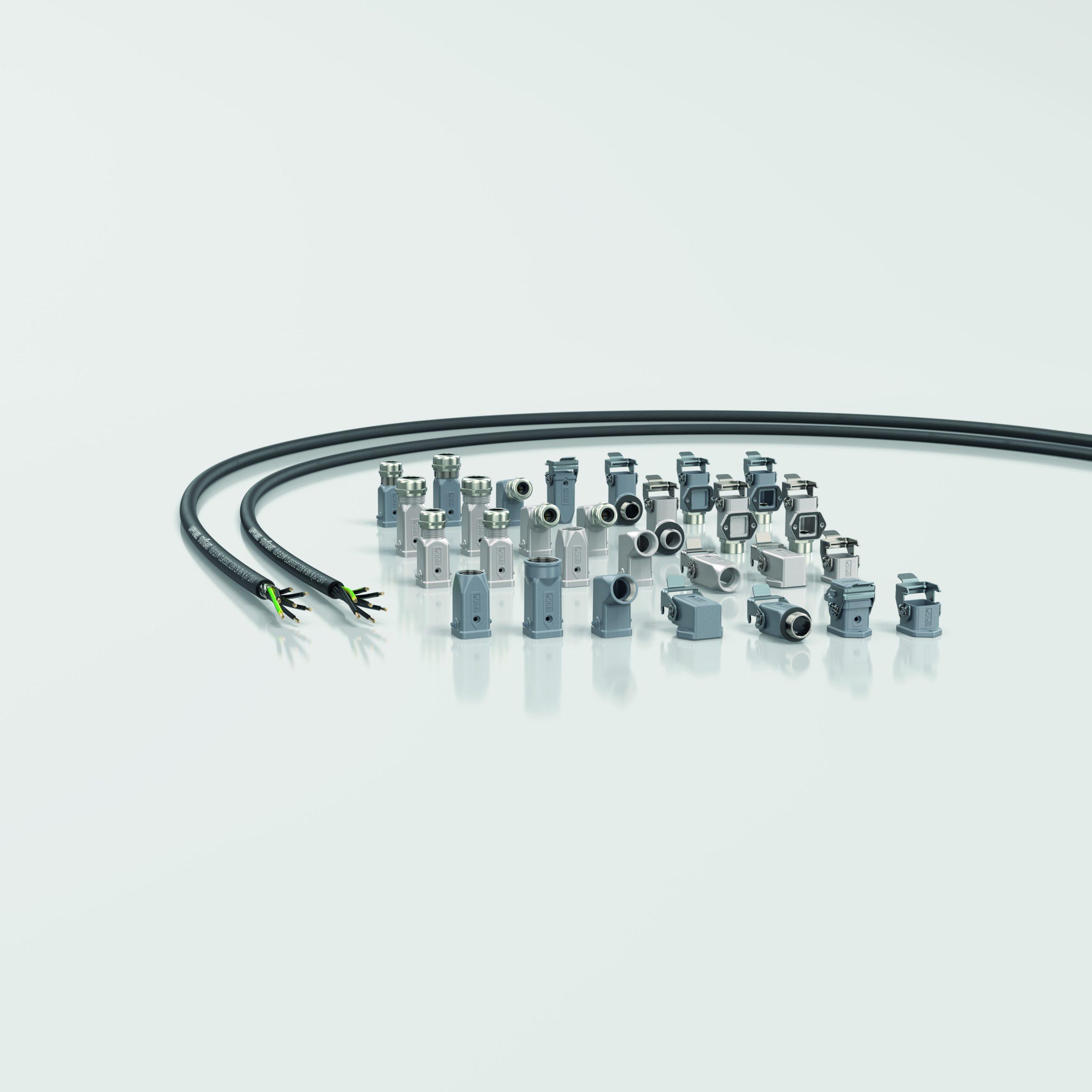 Steckverbinder und Leitungen für den Schaltschrank