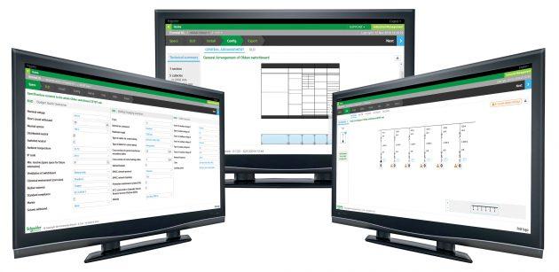 Smarte Software erleichtert die Konfiguration von Schaltanlagen. (Bild: Schneider Electric)
