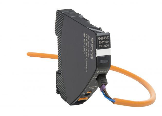 Das intelligente Einspeisemodul EM12D-TIO (Bild: E-T-A Elektrotechnische Apparate GmbH)
