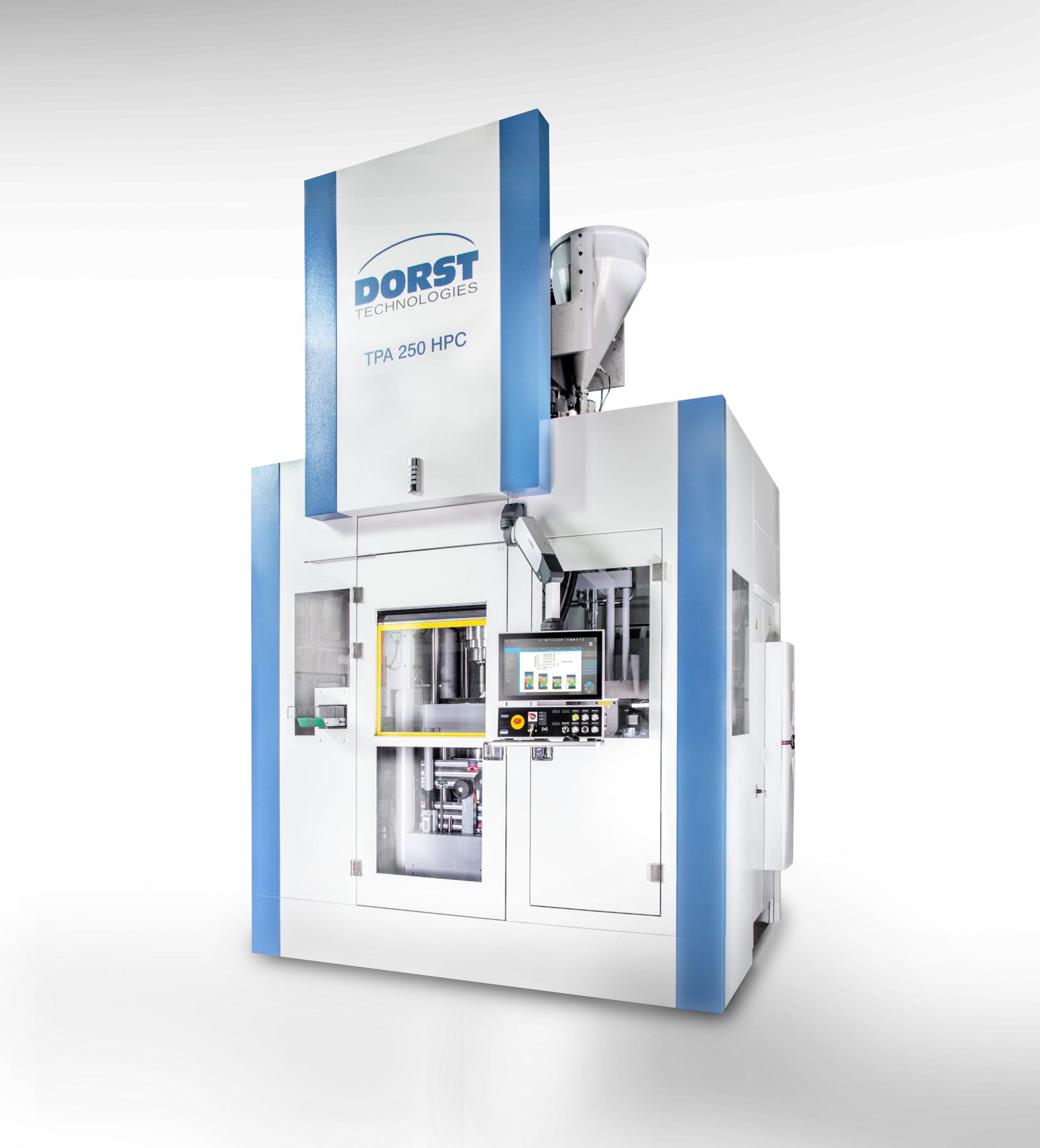 Auf den mechanischen, elektrischen oder hydraulischen Pressautomaten von Dorst wie der TPA 250HPC entstehen hochpräzise Produkte aus Metall- und Keramikpulver für viele Branchen. (Bild: Dorst Technologies GmbH & Co. KG)