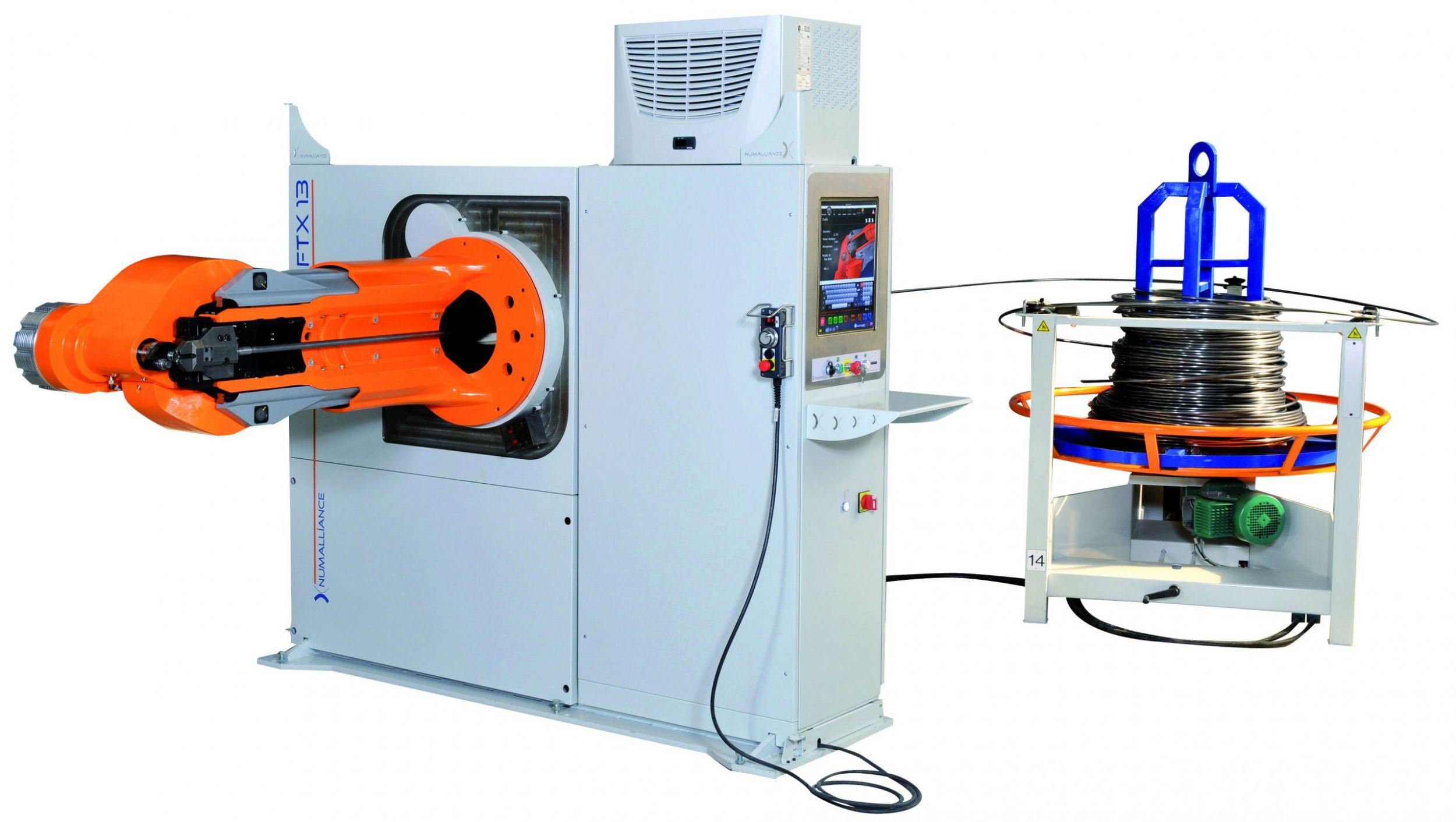 Numalliance Drahtbiegemaschine (Bild: Numalliance SAS)