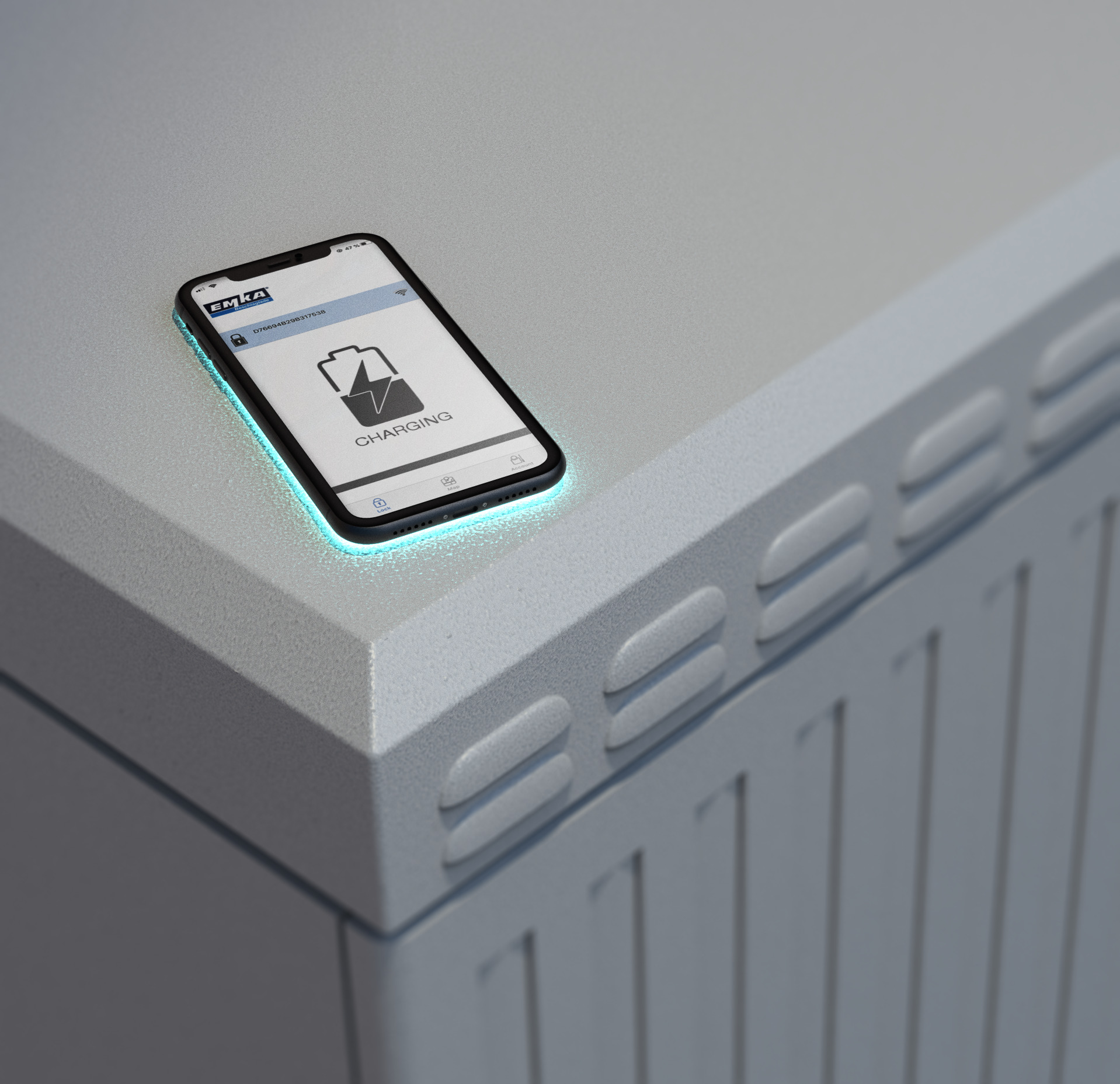 Speziell für Multifunktionsgehäuse im Outdoor-Bereich: Emkas neue Smartphone-basierte Zutrittskontrolle. (Bild: Emka Beschlagteile GmbH & Co. KG)