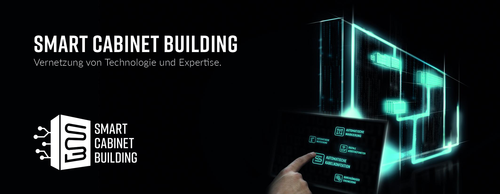 Ziel von Smart Cabinet Building ist es, durch die Vernetzung von Technologie und Expertise über alle Prozessschritte ganzheitliche Lösungen für die heutigen und zukünftigen Herausforderungen im Schaltschrankbau bereitzustellen. (Bild: Weidmüller GmbH & Co. KG)