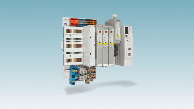Verringert den Verdrahtungsaufwand im Schaltschrankbau: das Cross Power System von Phoenix Contact. (Bild: Phoenix Contact GmbH & Co. KG)