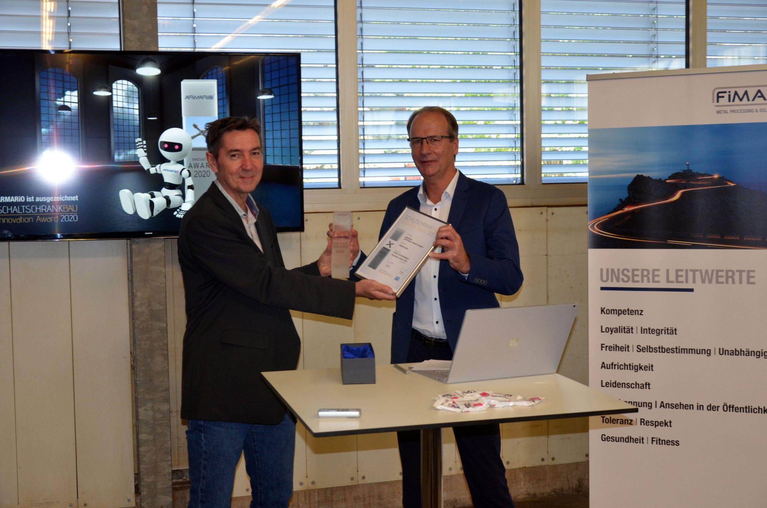 SCHALTSCHRANKBAU Innovation Award 2020