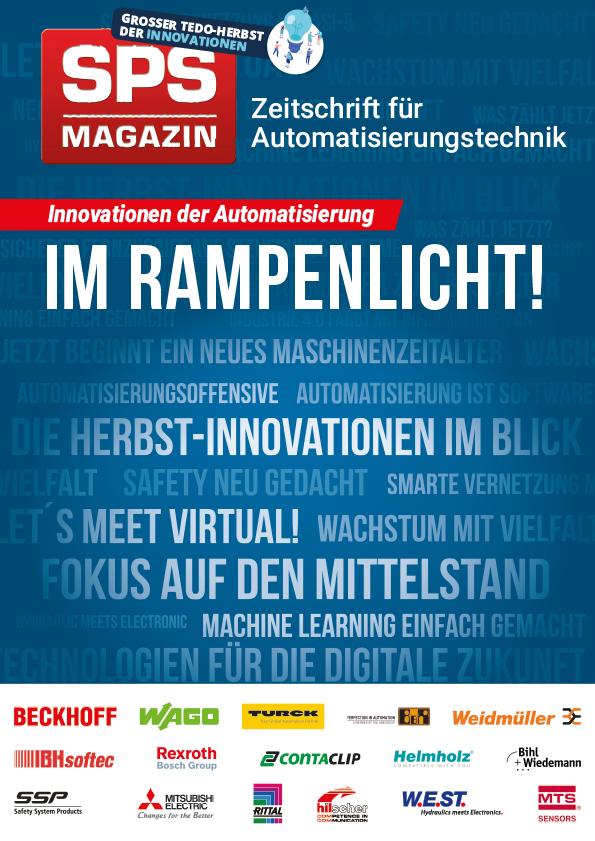 SPS-MAGAZIN zeigt Herbst-Innovationen 2020