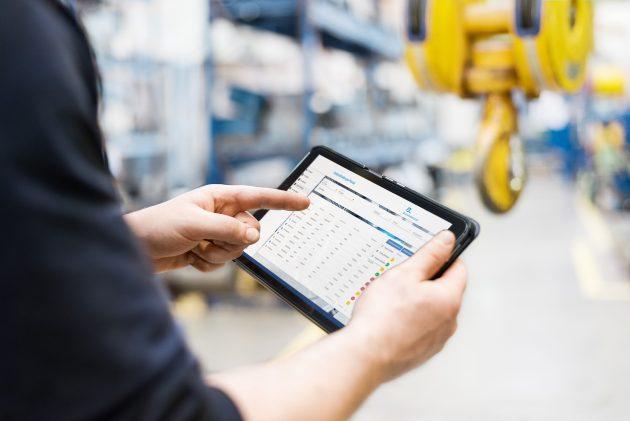 Ein Kundenvorteil ist die Prozessoptimierung dank direktem Anfrage- und Bestellprozess im Portal. Die Beauftragung eines Servicetechnikers kann somit direkt aus dem Tool heraus erfolgen. (Bild: Blumenbecker Industrie-Service GmbH)