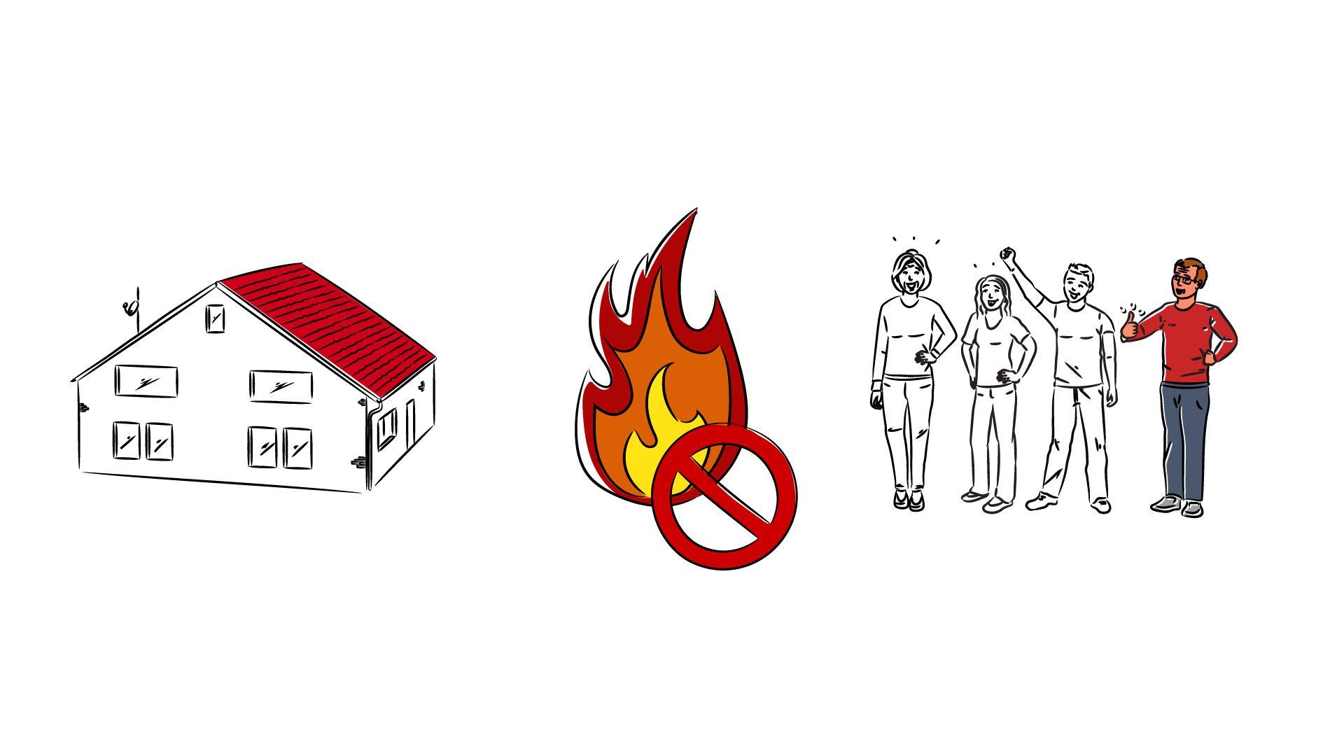 Schutz vor elektrisch gezündeten Bränden durch AFDD