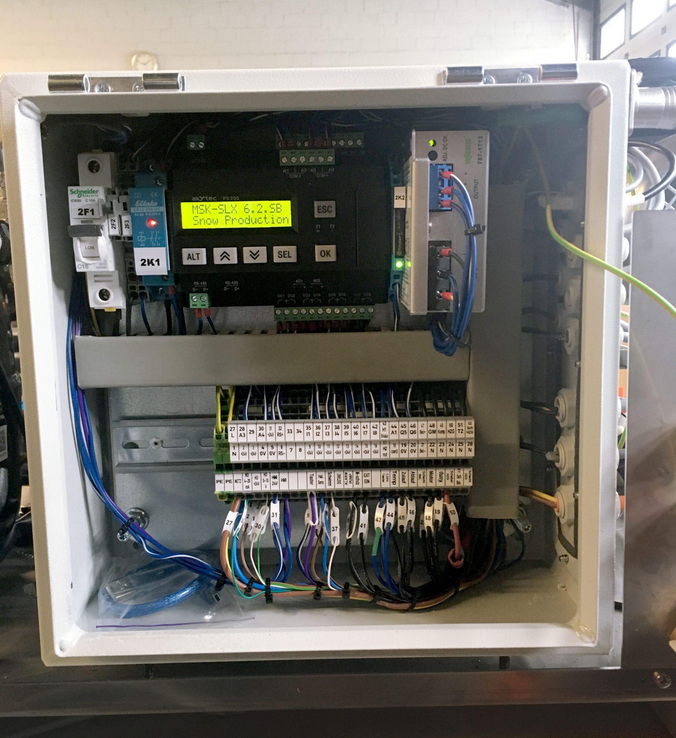 Mini-SPS im Einsatz bei Kältetechnik