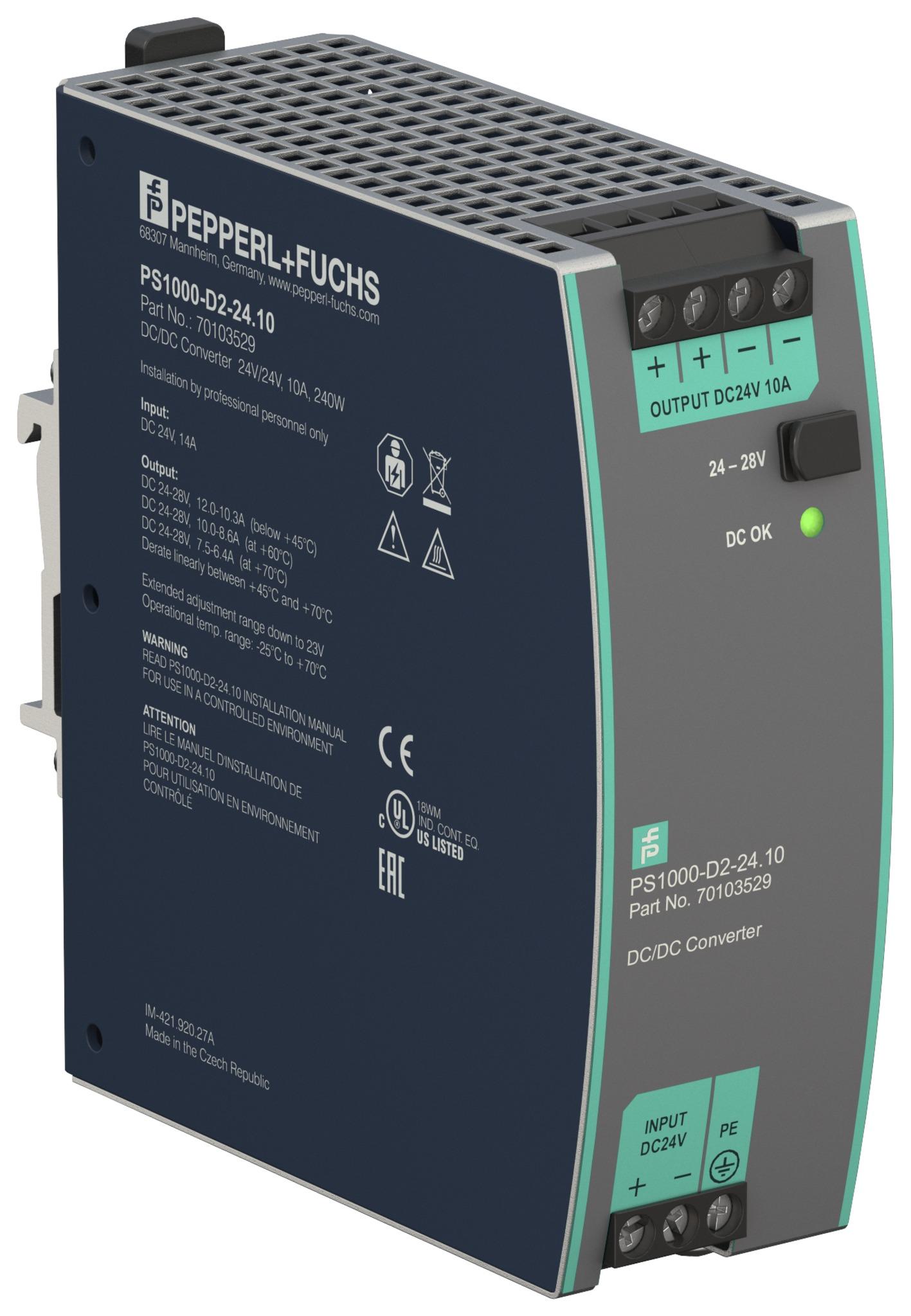 Neue Stromversorgungen für den Schaltschrank