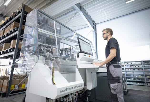 I Dies war die Grundlage für die automatisierte Drahtkonfektionierung in Phase 3. (Bild: Meurer-etechnik GmbH & Co. KG)