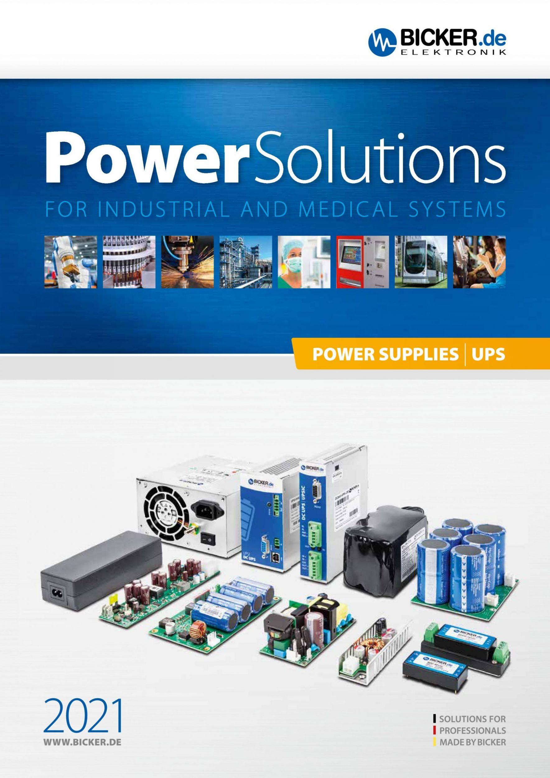 Neue Kataloge 'Power Solutions' & 'Power+Board Solutions'