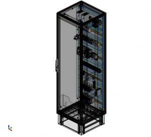 I Die dreidimensionale Schaltschrankplanung mit Eplan Pro Panel wird an einigen Standorten schon genutzt. Künftig werden alle Standorte damit arbeiten. (Bild: Schaeffler Sondermaschinenbau)