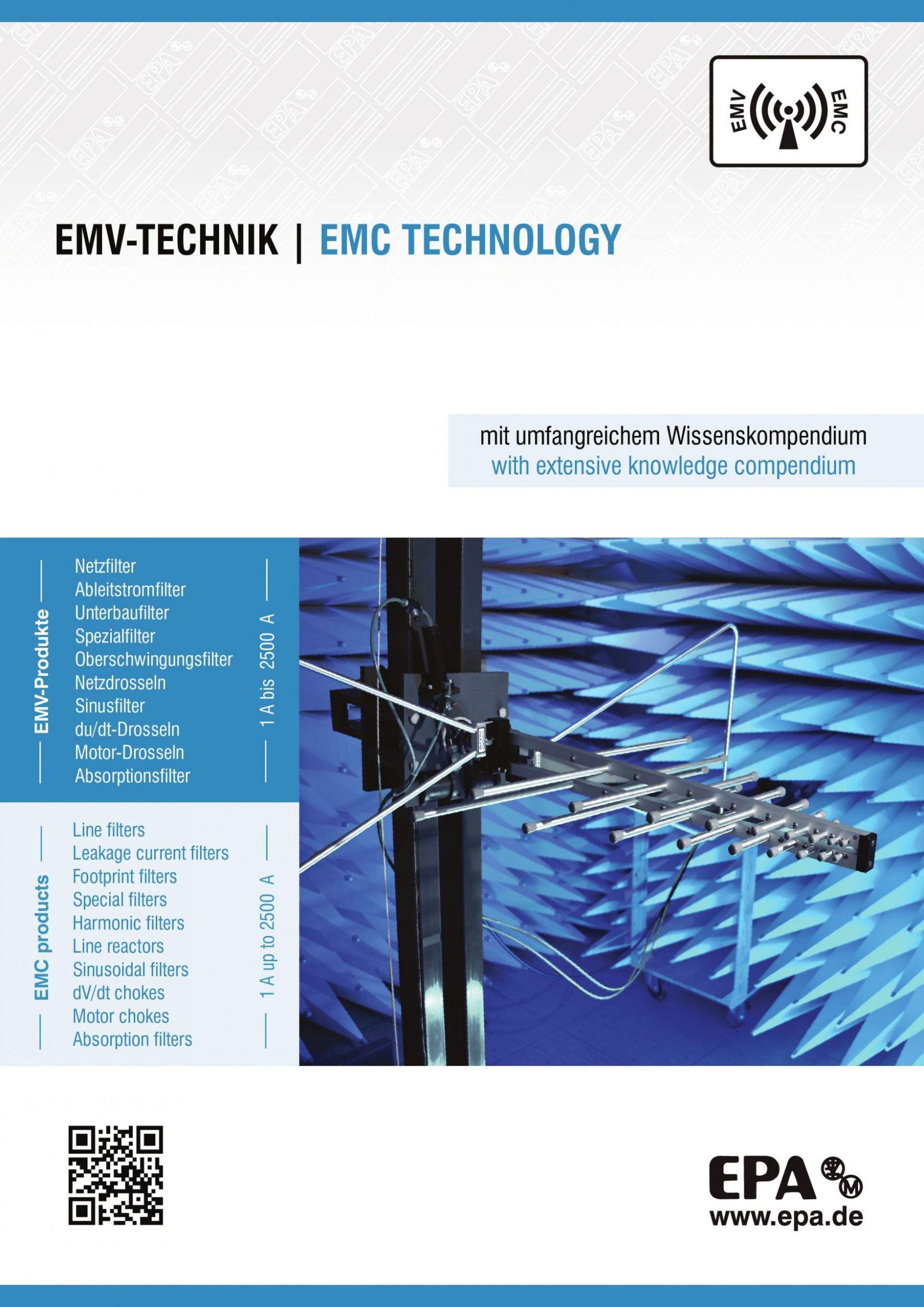 Wissenskompendium und EMV-Katalog in Einem
