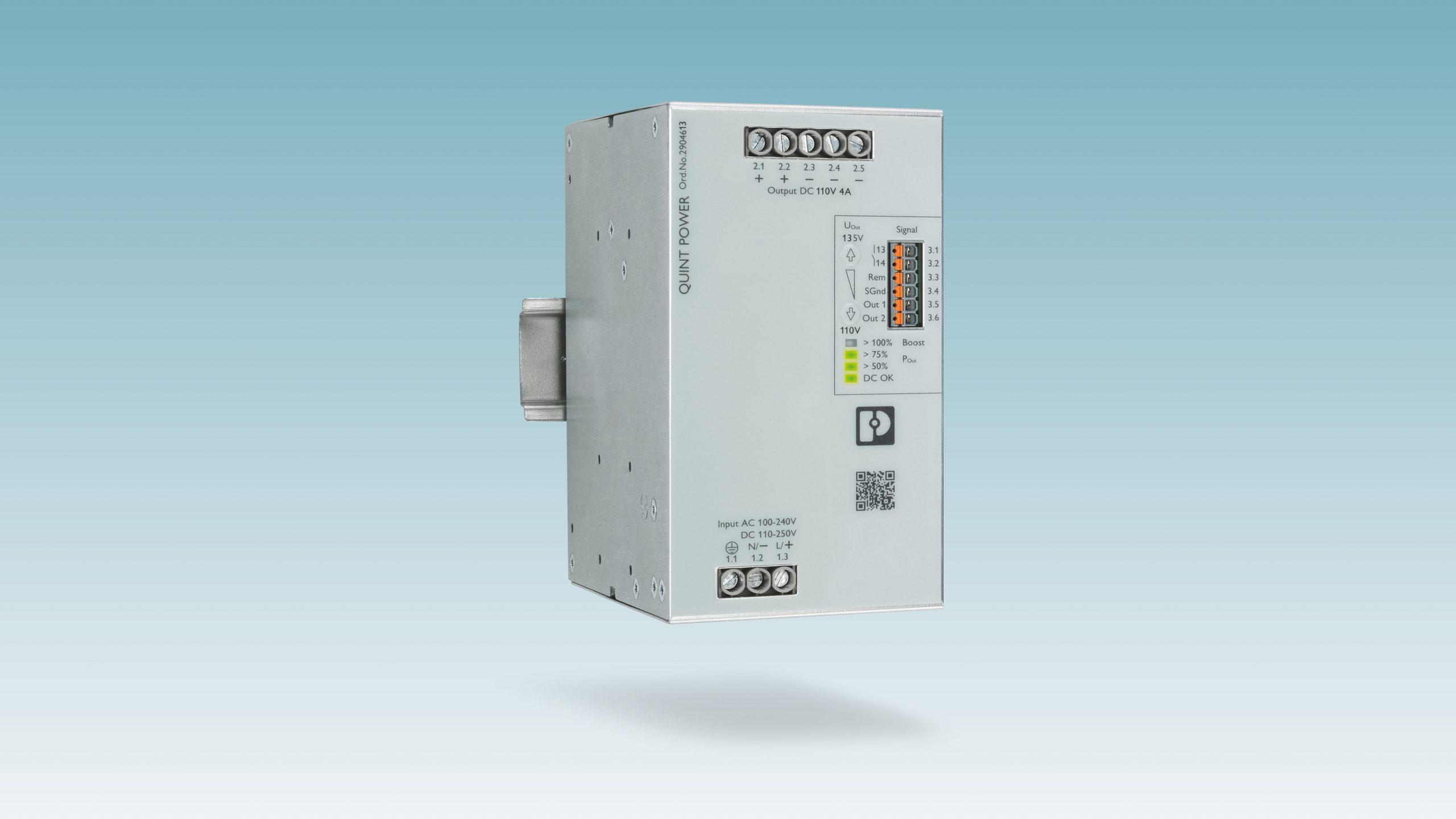 Leistungsstarke Stromversorgung